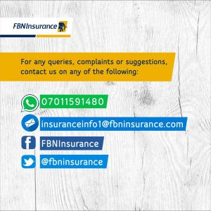 FBNInsurance Limited …because YOU really matter